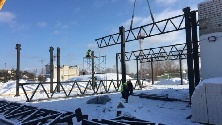 В аэропорту Ярославля начали строить международный терминал