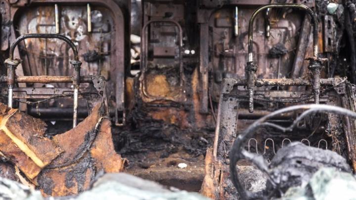 В Краснослободске сожгли дорогой пикап чиновника облкомприроды Волгоградской области