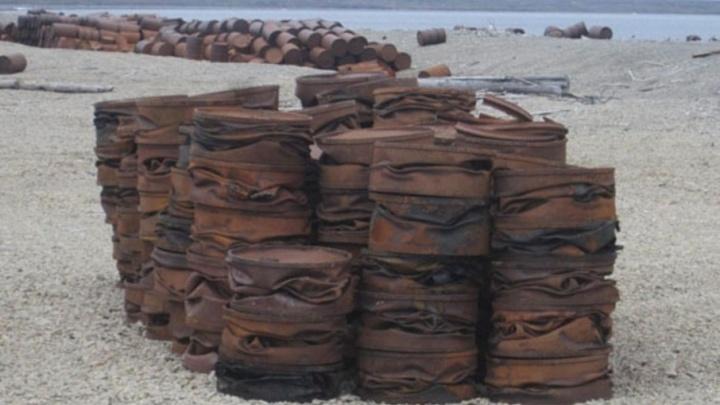 Экологический взвод соберет 300 тонн металлолома на острове Котельный