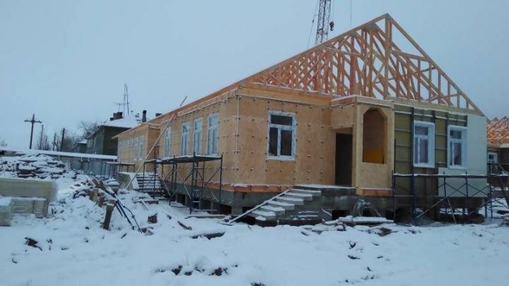 Строительство детского сада в Турдеевске идет с отставанием