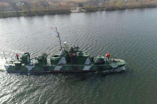 Корабли прошли мимо Волгограда