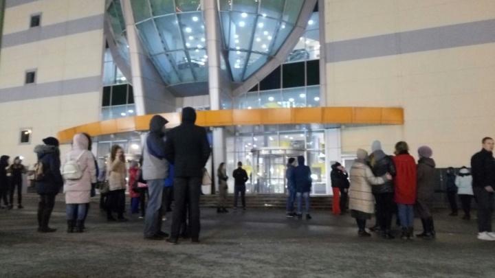 В Перми эвакуировали торгово-развлекательный комплекс «Семья»