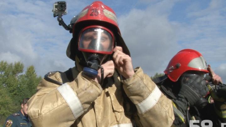 В Добрянке на пожаре погиб 78-летний пенсионер