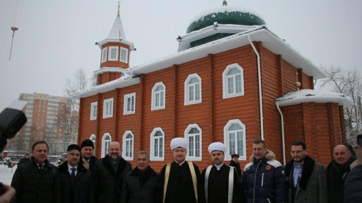 Самую северную мечеть открыли сегодня в Архангельске