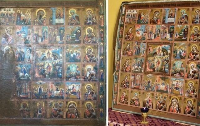 «Сады Придонья» профинансировали реставрацию редкой казачьей иконы