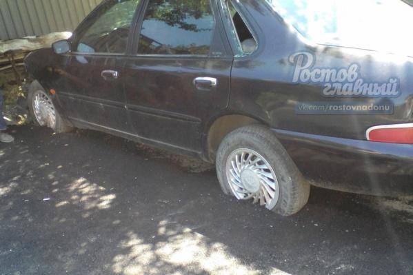 Последствия ремонта дороги в Аксае