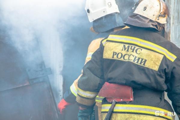 Площадь пожара составила 30 кв. метров