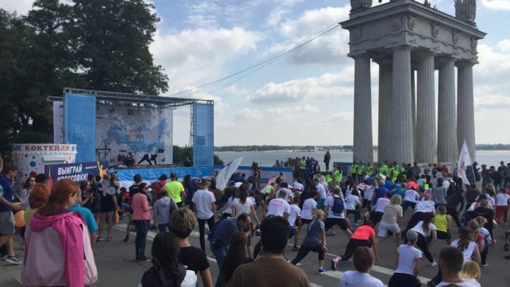 В Волгограде прошел благотворительный забег в помощь «детям-бабочкам»