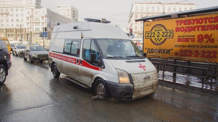 В Челябинске маршрутка сбила школьницу