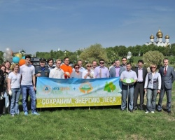 Энергетики посадили в Ярославской области 250 новых деревьев
