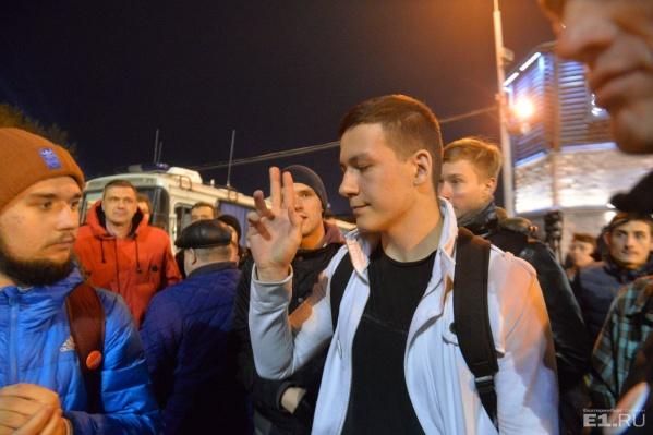 Руслан Маркелов рассказал, что потерял сознание.