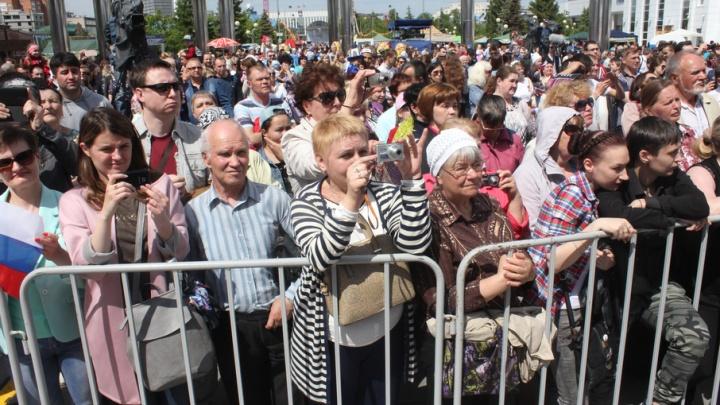 12 тысяч тюменцев пришли на парад дружбы народов: фоторепортаж