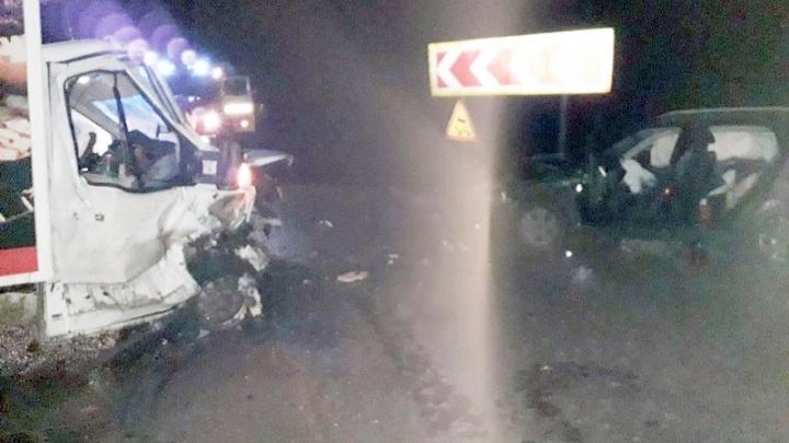 «Нарушила правила»: автомобилистка на Hyundai спровоцировала ДТП с грузовиком