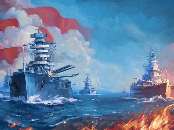 концепт-арт к игре World of warships