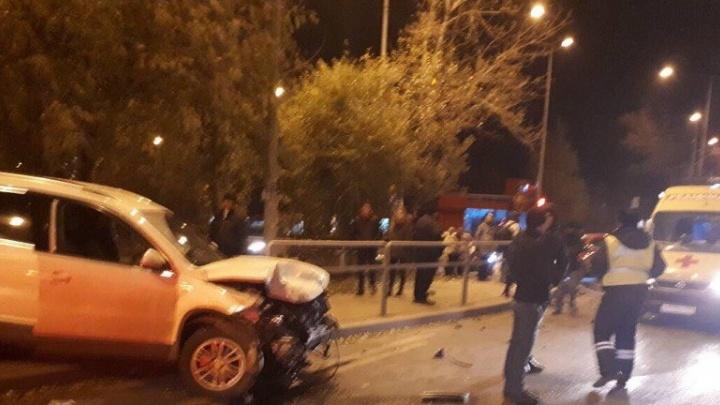 В Самаре водитель Opel не уступил дорогу и попал в больницу