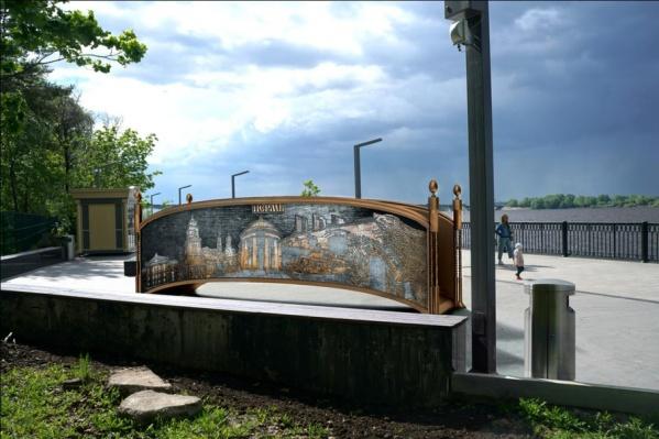 Объект стоимостью в миллион рублей появится на набережной Камы