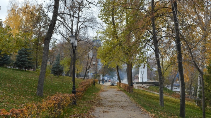 Мэрия: подрядчик ремонтирует фонтаны в Струковском саду