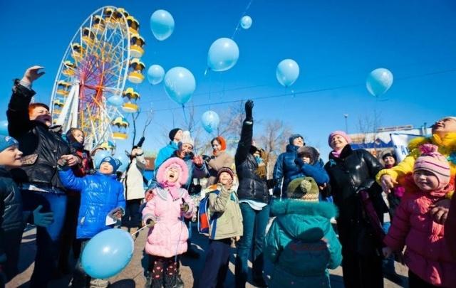В Тюмени в рамках акции «Аутизм: зажги синим!» устроят флешмоб «Синяя ладошка»