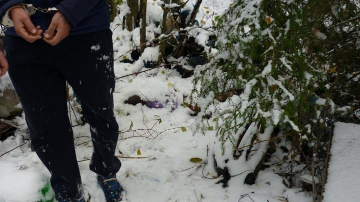В Уватском районе в лесном массиве нашли тело, завернутое в штору