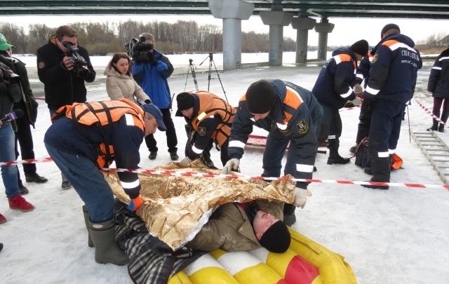 Ярославские спасатели придумали ноу-хау по спасению тонущих рыбаков