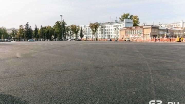 Зимой на площади Куйбышева вновь зальют каток