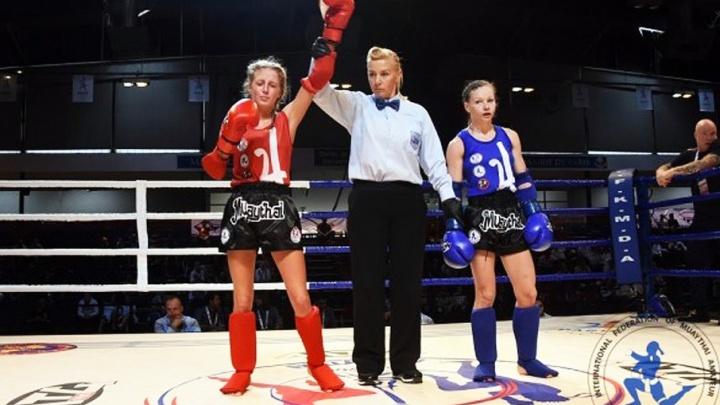 Челябинская Дюймовочка стала чемпионкой Европы по тайскому боксу