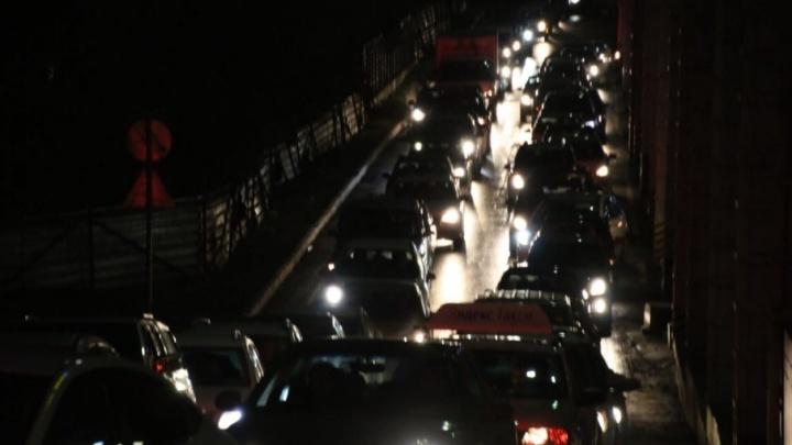 Пробки в Ростове достигли девяти баллов