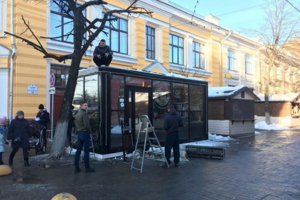 Буквы CAPS на улице Кирова мы больше не увидим