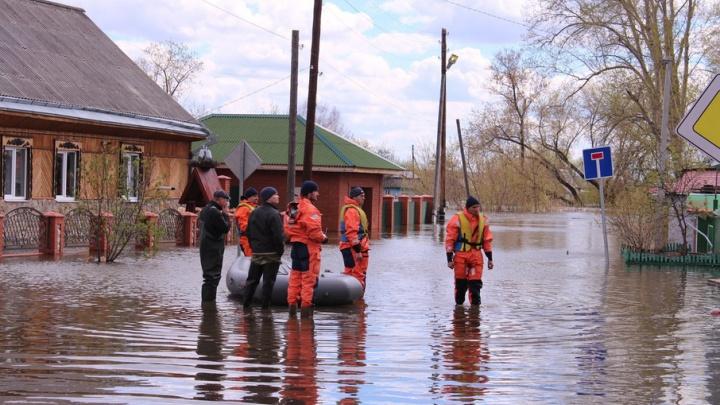 За сутки вода в Ишиме поднялась на 17 сантиметров: в городе подтоплены 33 дома