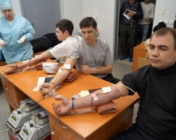 Сотрудники «Минудобрений» сдали кровь для тяжелобольных