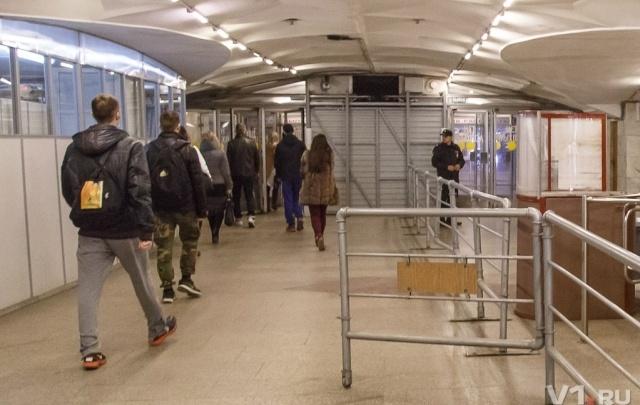 В Волгограде на улицы выведены дополнительные силы полиции в связи с терактом в Санкт-Петербурге