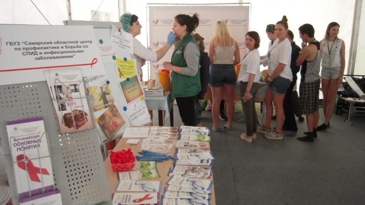 На молодежном форуме iВолга 167 человек сдали экспресс-тест на ВИЧ