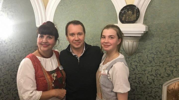 Актёр Евгений Миронов разрешил ярославцам называть себя просто Женя
