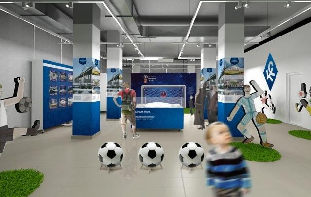 В Самаре к ЧМ-2018 откроют выставку с виртуальными футбольными воротами и мячом для фото