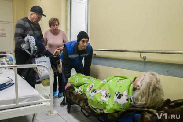 Травматологическое отделение переполнено из-за гололёда