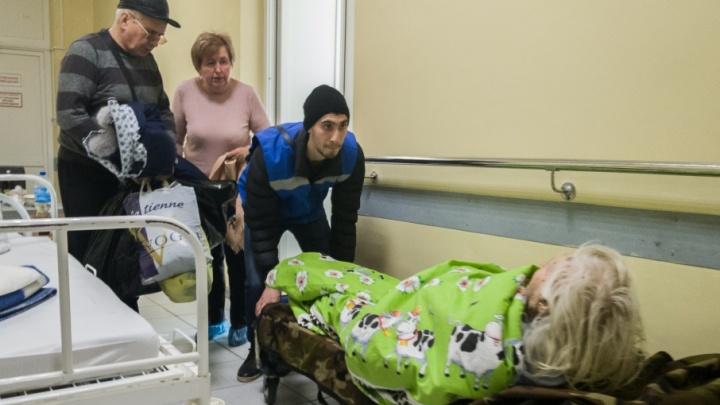 «Скоро и коридора не хватит»: травматология больницы № 7 переполнена жертвами тротуаров Волгограда