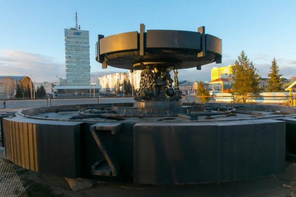 Пока что фонтан планируют поставить за ТЦ «Прага»