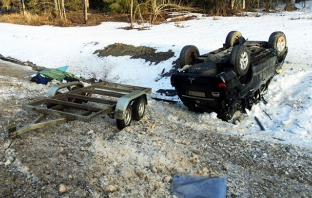В аварии на трассе в Вологодской области пострадал житель Поморья