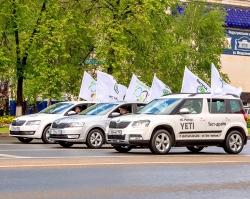 В Уфе прошел самый масштабный велопробег России