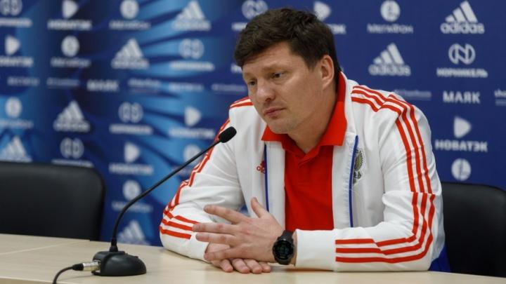 Тренер сборной России: «В Волгограде мы не смогли угнаться за командой мирового уровня»
