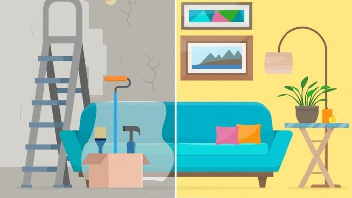 «Обновите это немедленно»: меняем надоевший интерьер квартиры