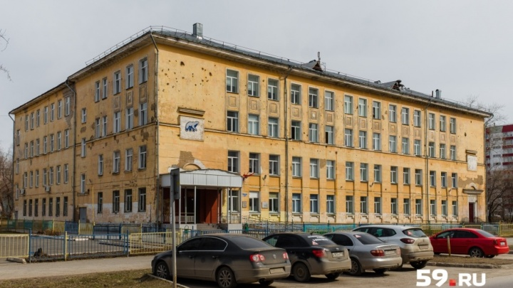 В пермской школе, на состояние которой жаловались родители, начали ремонт