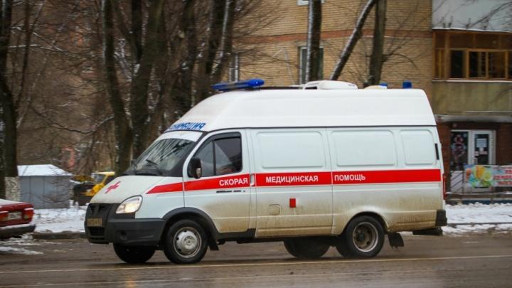 Два человека погибли при столкновении ВАЗа с микроавтобусом в Ростовской области