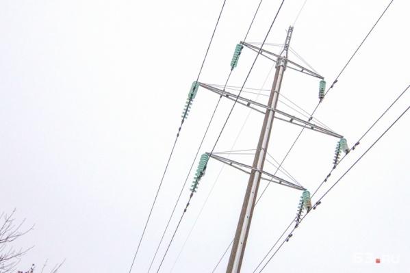 На Безымянке замкнуло электросети