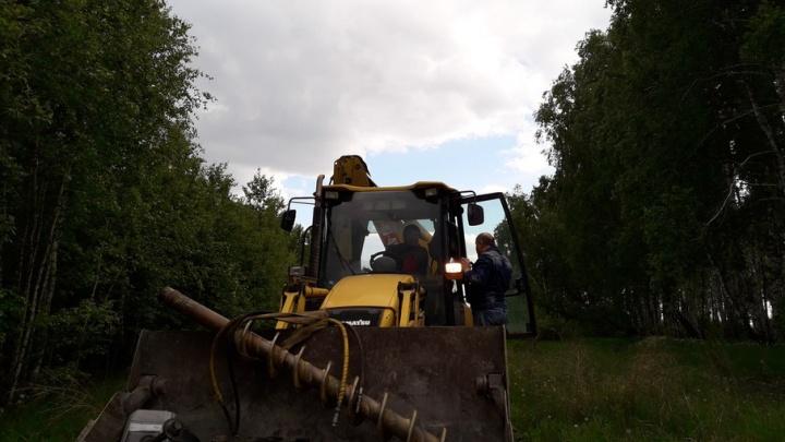 «Монтаж забора на частной территории»: в РМК объяснили работы на земле под Челябинском