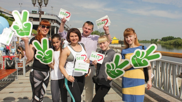 Более 2500 тюменцев приняли участие в «Зеленом марафоне» Сбербанка