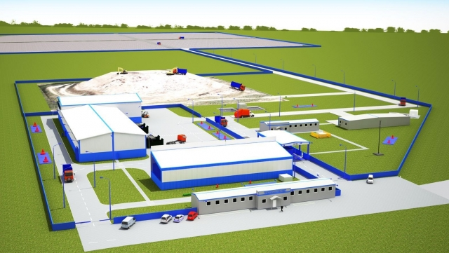В Светлоярском районе началось строительство мусороперерабатывающего комплекса