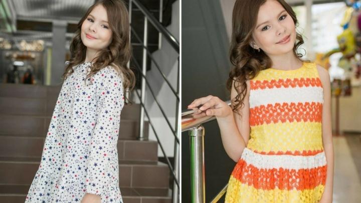 Юная пермячка примет участие в Международной неделе детской моды