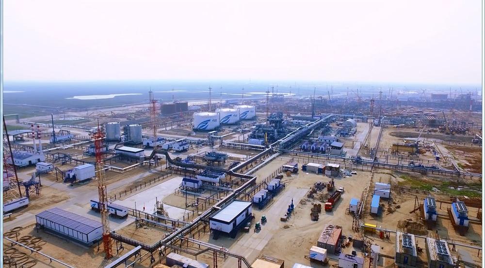 База нефтяного промысла в районе с. Новый Порт