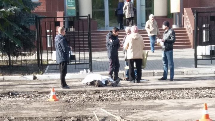 В Самаре на улице мужчина умер после визита в банк